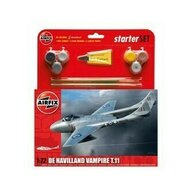 Airfix - Kit constructie si pictura avion De Havilland Vampire T11