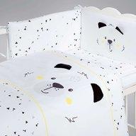 Albero Mio - Set lenjerie imprimata satinata 5 piese, Funny Teddy Bear