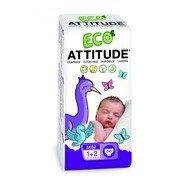 Attitude - Scutece ecologice de unica folosinta marime 1-2 (3-7kg)
