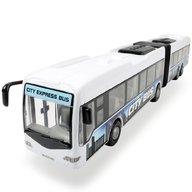 Dickie Toys - Autobus City Express Bus alb
