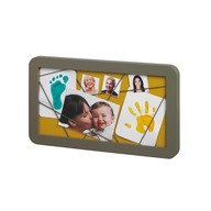 Baby Art Memory Board taupe & azure / sun