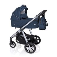 Baby Design - Husky Carucior multifunctional + Winter Pack, Navy 2020