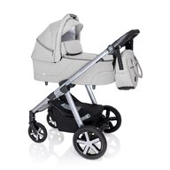 Baby Design - Husky Carucior multifunctional + Winter Pack, Light Gray 2020