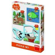 Dino - Toys - Baby Puzzle unde locuiesc animalele?
