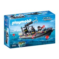 Playmobil - Barca echipei Swat