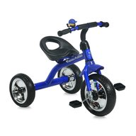 Bertoni - Tricicleta pentru copii A28 roti mari Blue Black