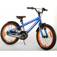 EandL Cycles - Bicicleta cu pedale Rocky, 18 inch, Albastru