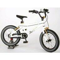 EandL Cycles - Bicicleta cu pedale Cool Rider, Alb