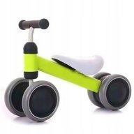 Ecotoys - Bicicleta fara pedale, Verde, Alb