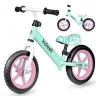Kidwell - Bicicleta fara pedale Rebel, Verde