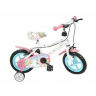 Saica - Bicicleta cu pedale Unicorn Cu roti ajutatoare