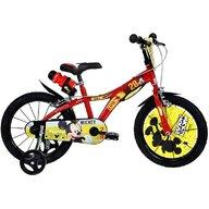 Dino Bikes - Bicicleta cu pedale Cu roti ajutatoare Mickey Mouse