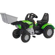 Simba - Tractor cu pedale John XL Cu incarcator, Verde
