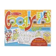 Melissa & Doug - Bloc de colorat Monstruletii veseli