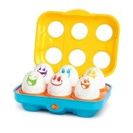 Bright Starts-52125 Jucarie Put N Shake Eggs-Giggling Gourmet™