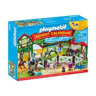 Playmobil - Calendar Craciun - Ferma calutilor