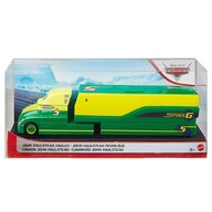 Disney Cars - Camion John Haulstead Hauler Cu masinuta, Din metal  by Mattel