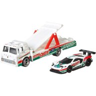 Hot Wheels - Camion C-800 Cu masina Ford GT Race by Mattel Car Culture