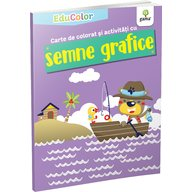 Editura Gama - Carte de colorat si activitati cu semne grafice