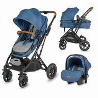 Coccolle - Carucior 3in1 ultracompact  Ravello Navy Blue