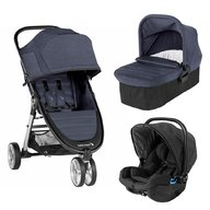 Baby Jogger - Carucior City Mini 2, sistem 3 in 1, Carbon
