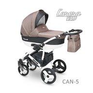 Camarelo - Carucior copii 2 in 1 Carera New Can-5, Maro