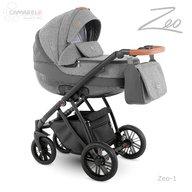Camarelo - Carucior copii 2 in 1 Zeo zeo-1, Gri