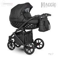 Camarelo - Carucior copii 3 in 1 Maggio Mg-7, Negru
