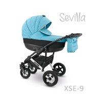 Camarelo - Carucior copii 3 in 1 Sevilla Xse-9, Albastru