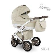 Camarelo - Carucior copii 3 in 1 Sirion Eco SiE-1, Crem