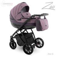 Camarelo - Carucior copii 3 in 1 Zeo zeo-6, Violet