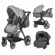 Coccolle - Carucior transformabil 3in1  Ambra Urban Grey