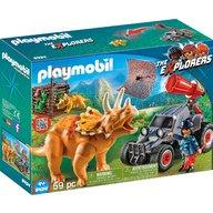 Playmobil - Cercetatori - Automobil si Triceratops