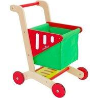 Globo Legnoland - Cos de cumparaturi pentru copii din lemn