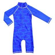 Swimpy - Costum de baie Fish Blue , protectie UV , marime 74-80
