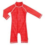 Swimpy - Costum de baie Fish Red , protectie UV , marime 62-68