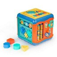 Ecotoys - Jucarie cu activitati Cub educational Cu sunete, cu Led