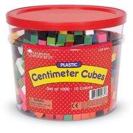 Learning Resources - Cuburi multicolore 1cm