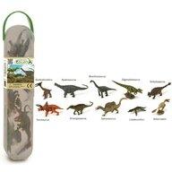 Collecta - Cutie cu 10 minifigurine Dinozauri set 2