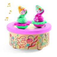Djeco - Cutie muzicala magnetica Flori
