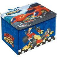 Arditex - Mobilier depozitare jucarii Cutie Transformabila Mickey Mouse and The Roadster Racers, 41x31 cm