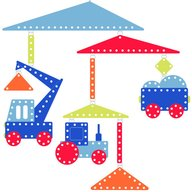 Djeco - Decoratie mobila, Vehicule