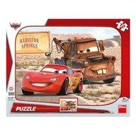 Dino - Toys - Puzzle peripetii cu Lightning McQueen 12 piese