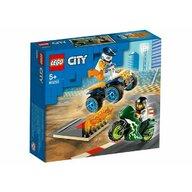 Set de joaca Echipa de cascadorii LEGO® City, pcs  62
