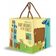 Sassi - Jucarie pentru sortat si stivuit Animalutele si puii lor Eco-Blocks