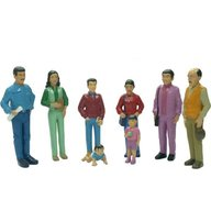 Miniland - Figurine familie sudamericana