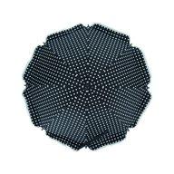 Fillikid - Umbrela pentru carucior 70 cm UV 50+, Dot Black