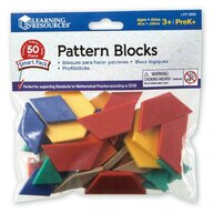 Learning Resources - Jucarie cu activitati Forme geometrice  50 piese