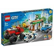 Set de constructie Furtul cu Monster Truck LEGO® City, pcs  362