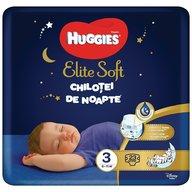 Huggies - Elite Soft Overnights Pants (nr 3) 23 buc, 6-11 kg